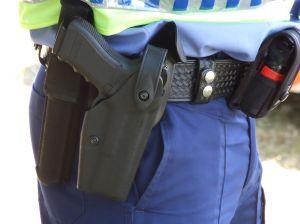 Dozór policji oskarżonego albo podejrzanego