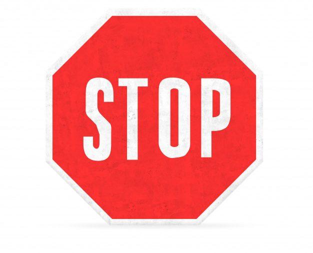 Niezastosowanie się do znaku, sygnału drogowego lub polecenia osoby uprawnionej (policjanta, strażnika miejskiego)