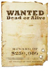 List gończy, poszukiwanie osoby podejrzanej lub oskarżonej